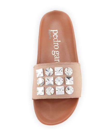 Amery Crystal-Embellished Sandal