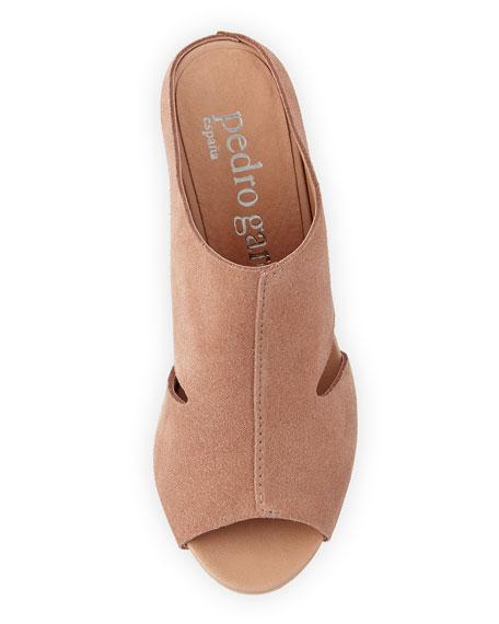 Wyatt Open-Toe Suede Mule Sandal