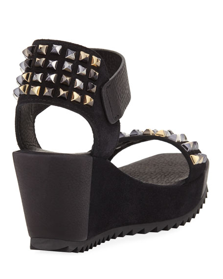 FORTUNA SANDAL WEDGE WITH ST