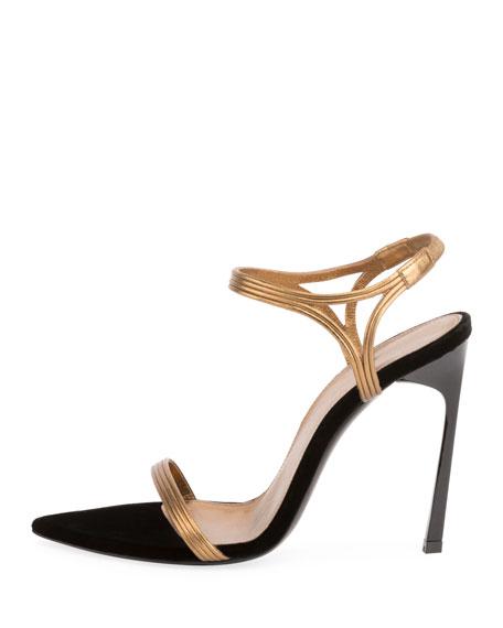 Talitha Metallic Strappy Sandal