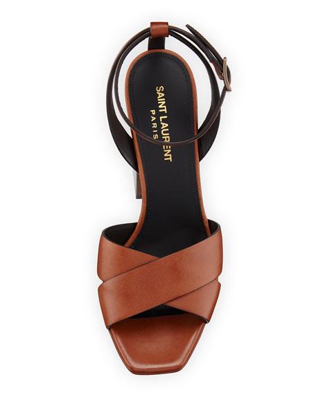 Farrah Calfskin Platform Sandal