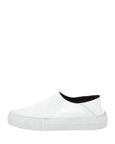 Charlie Leather Platform Sneakers