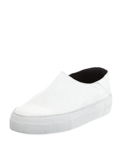 Charlie Leather Platform Sneaker