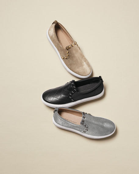 Sylvia Quilted Slip-On Sneaker