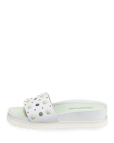 Cava Embellished Slide Sandal