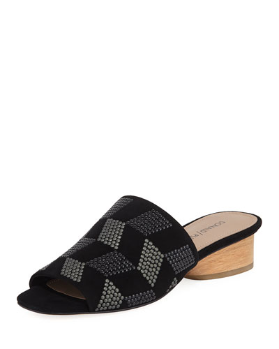 Rimini Embellished Slide Sandal