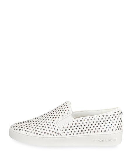 Keaton Perforated Star Sneakers