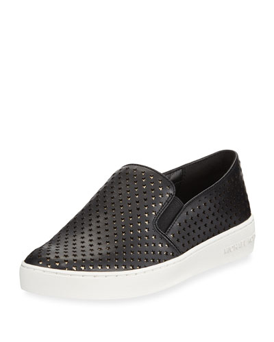 Keaton Perforated Star Sneaker