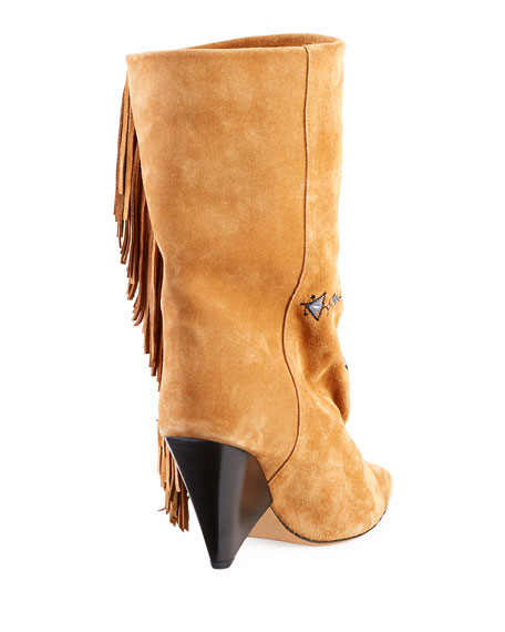 Lesten Santa Fe Embroidered Boot