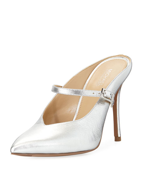 MICHAEL Michael Kors Tiegan Metallic Slide Mary Jane