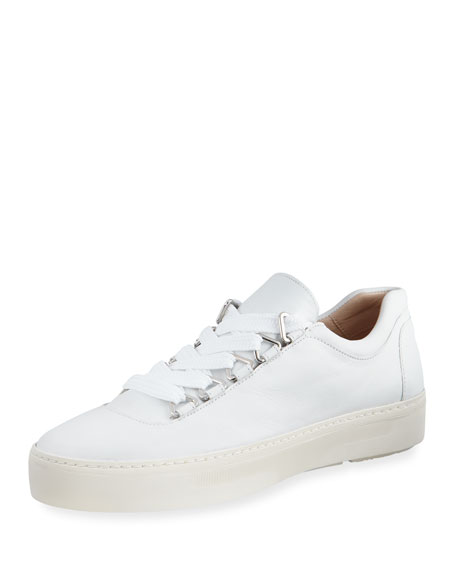 Gaming Lace-Up Napa Leather Sneakers