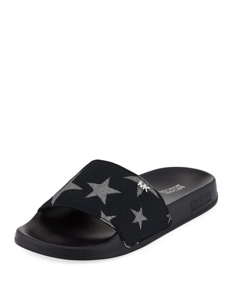 MICHAEL Michael Kors Sia Star Slide Pool Sandal