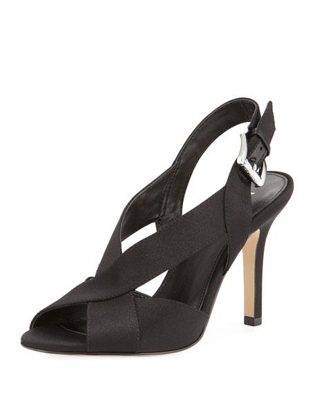 MICHAEL Michael Kors Becky Satin Slingback Sandal