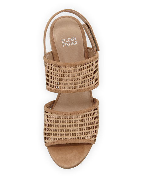 Finn Suede Perforated Sandal