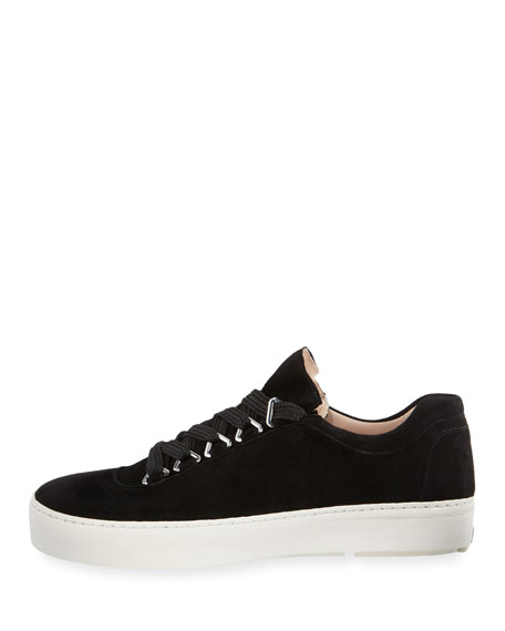 Gaming Lace-Up Suede Sneaker