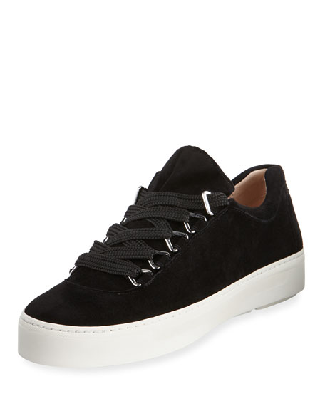 Gaming Lace-Up Suede Sneakers