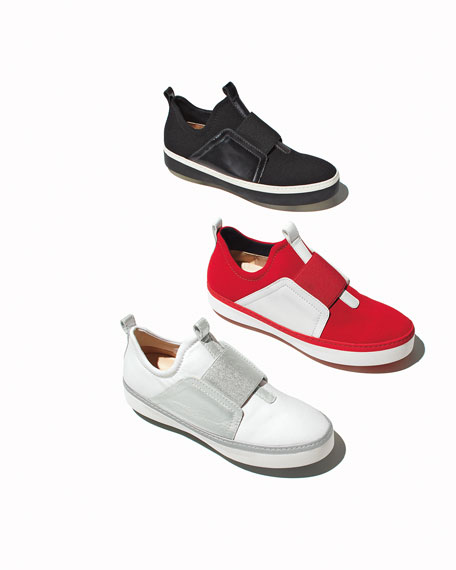 Wayfare Neoprene Two-Tone Sneaker