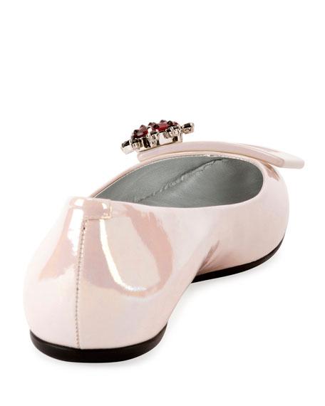 Gommette Jewels Ballet Buckle Flats