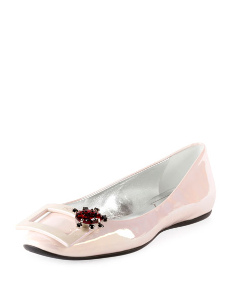 Gommette Jewels Ballerina Buckle Flat