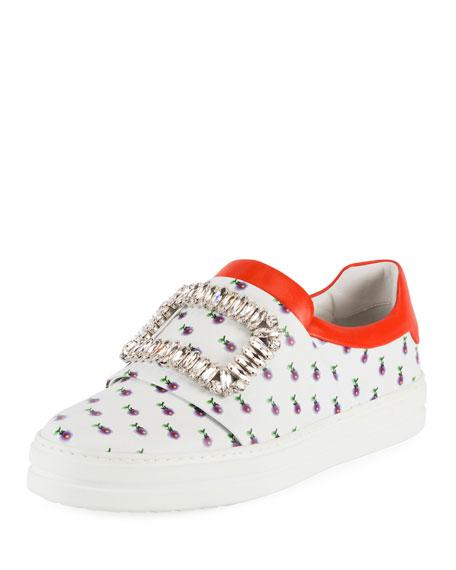 Sneaky Viv Printed Buckle Sneakers