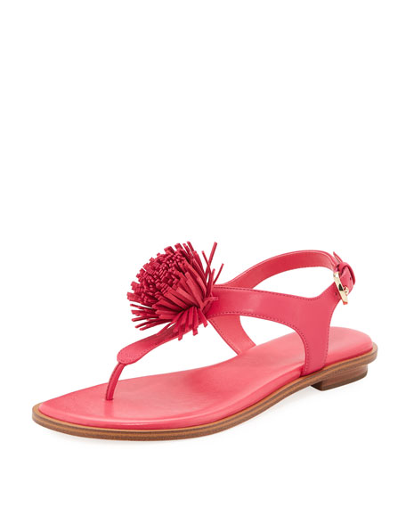 Lolita Fringe Flat Thong Sandal