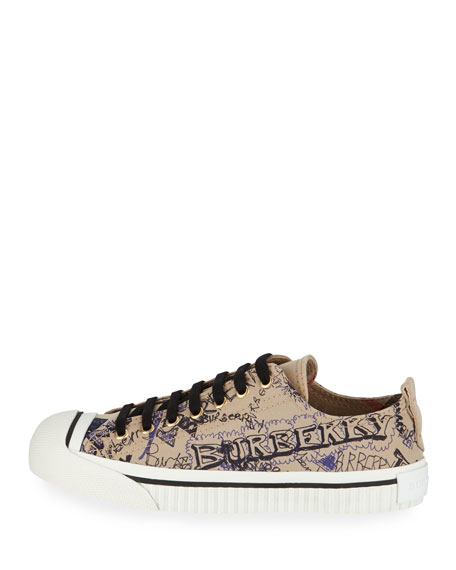 Kingly Low-Top Sketchbook Sneaker, Honey