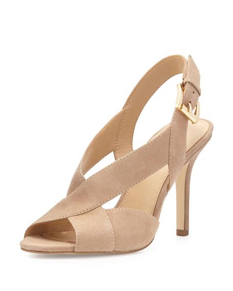 MICHAEL Michael Kors Becky Crisscross Slingback Sandal