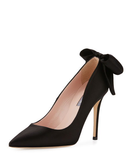 SJP by Sarah Jessica Parker Lucille Satin Bow