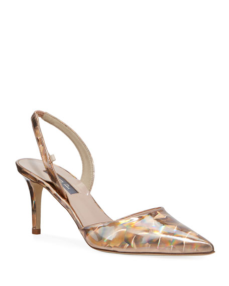 SJP by Sarah Jessica Parker Bliss Metallic Mesh-Net