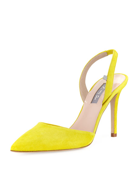 Bliss Suede Slingback Pump