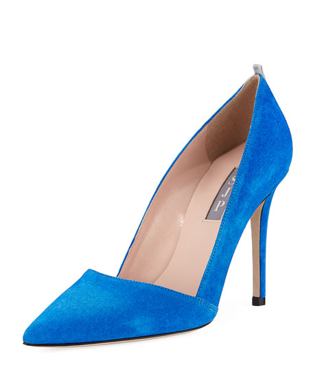 Rampling Suede Pointed Pump