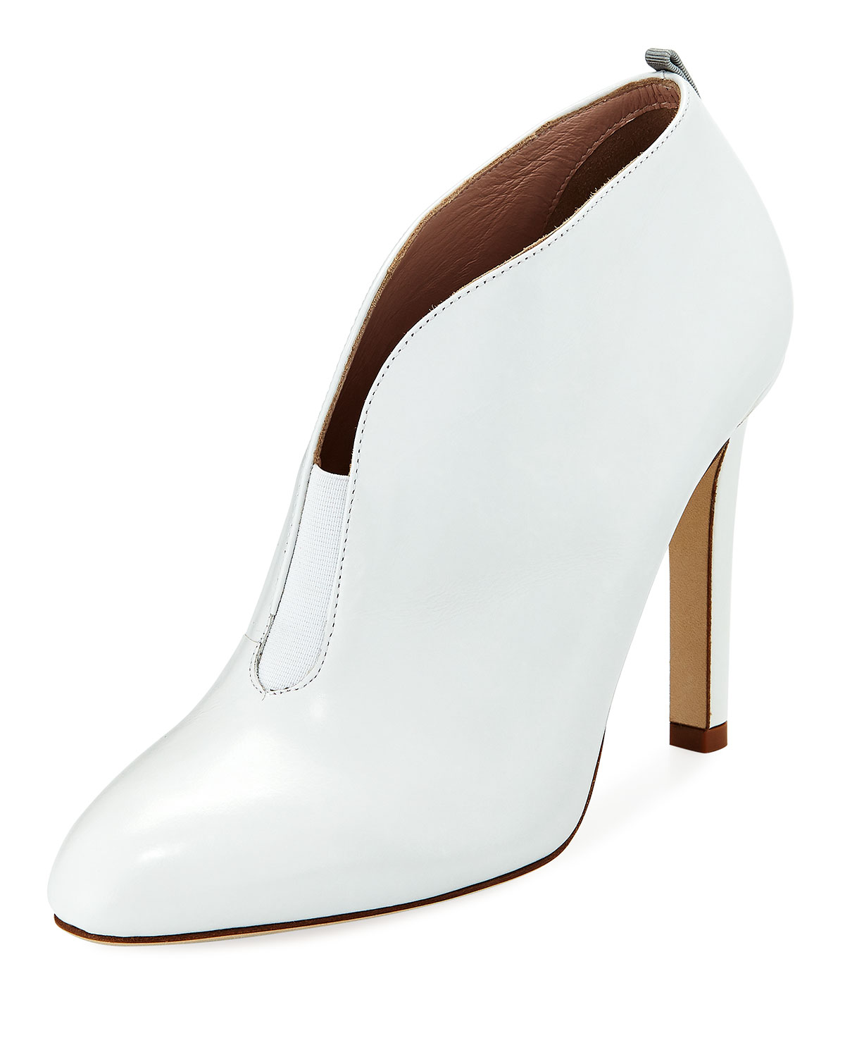 SJP by Sarah Jessica Bootie, Parker Trois Split Leather Bootie, Jessica White bad71f