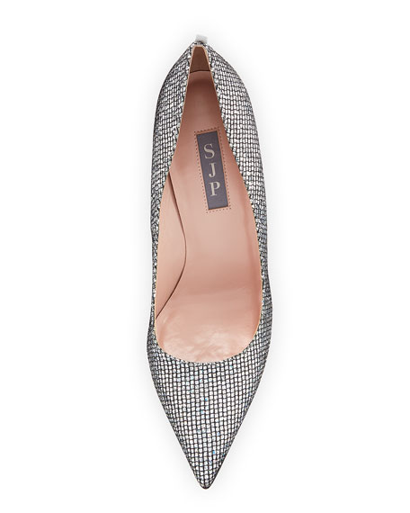 Timmons Metallic Fabric Pump