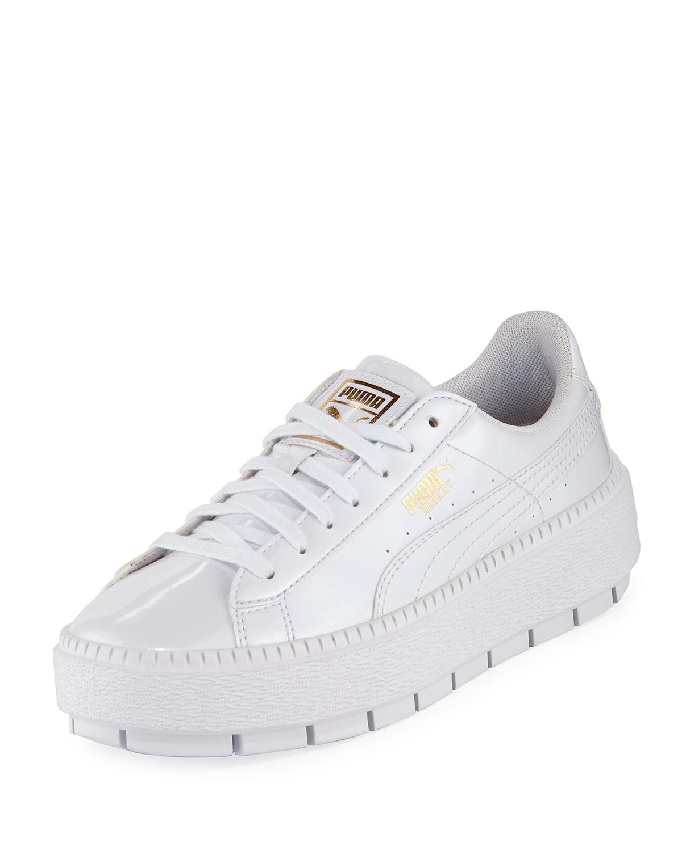7496eb1e856b6c Puma Basket Platform Trace Sneakers