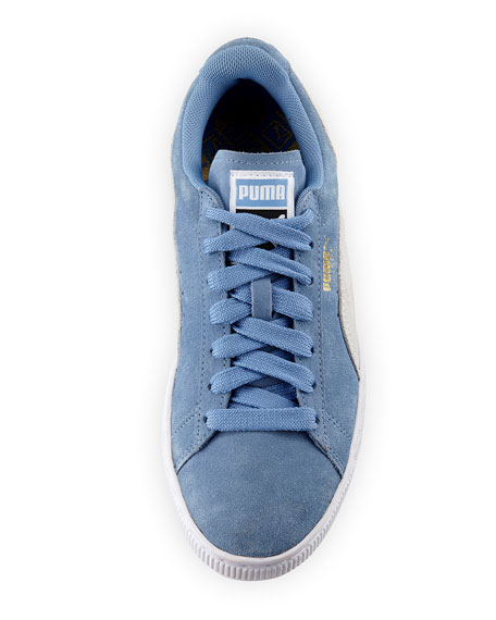 Classic Suede Lace-Up Sneakers