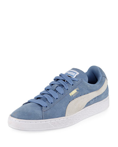 Suede Classic Lace-Up Sneaker