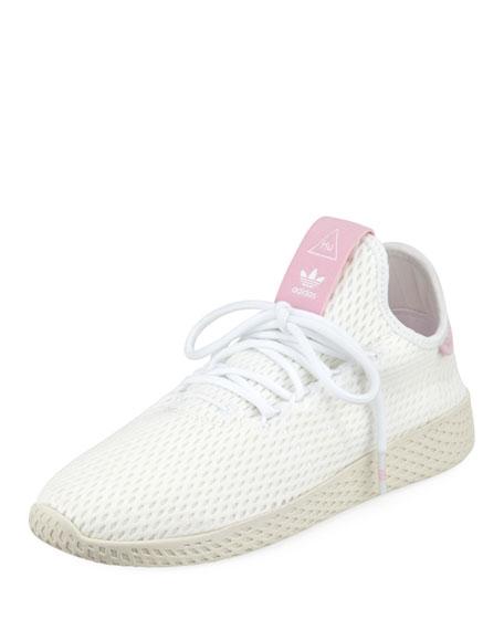 x Pharrell Williams Knit Mesh Tennis Sneakers