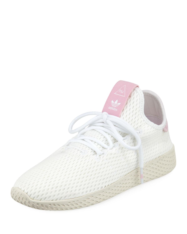 Adidas x Pharrell Williams Knit Mesh Tennis Sneakers  224f0f139