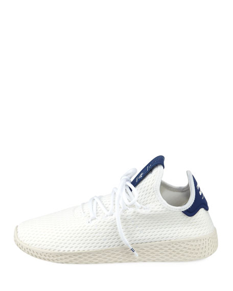 x Pharrell Williams Knit Mesh Tennis Sneakers