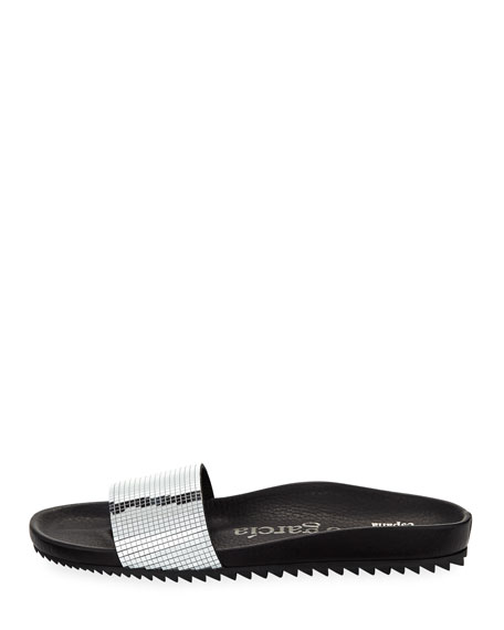 Alice Disco Slide Pool Sandal