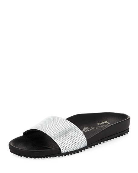Pedro Garcia Alice Disco Slide Pool Sandal