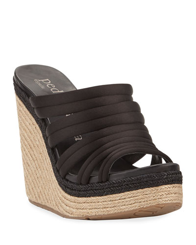 Taciana Two-Tone Wedge Sandal