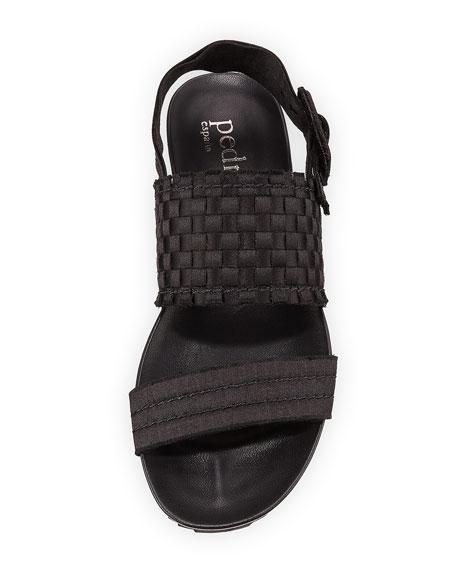 Jada Woven Satin Sandal