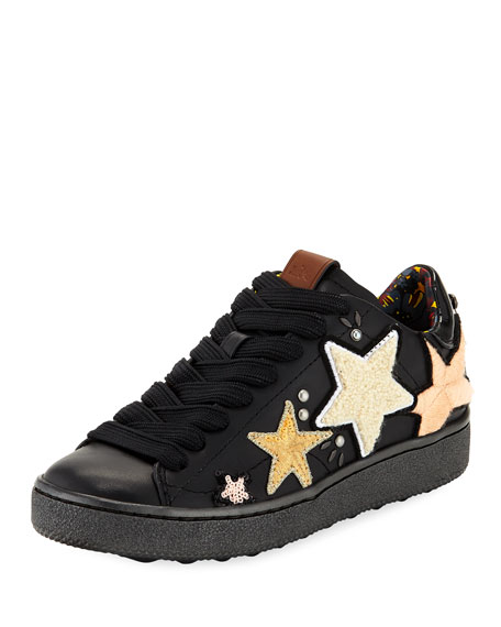 Coach C101 Sneaker with Cloud Patches