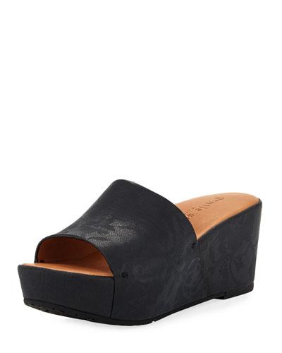 Forella Rose Wedge Platform Sandal
