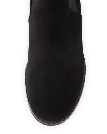 Binx Gored Suede Chelsea Boot