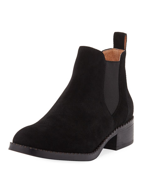 Gentle Souls Binx Gored Suede Chelsea Boot