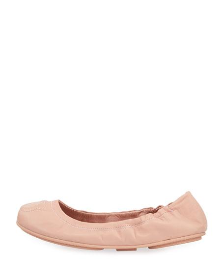 """Vignola"" Gancio-Quilted Ballerina Flat"