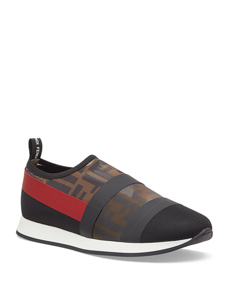 The Best Store To Get Low Shipping Runway sneakers - Black Fendi Sale Fashionable Cheap Factory Outlet Je9F59l