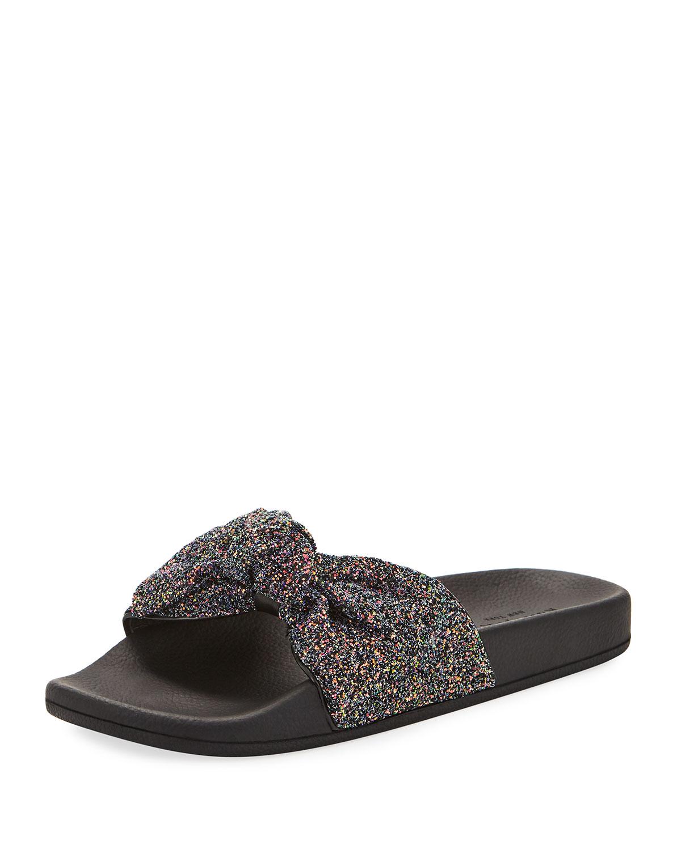 48b6f33768a8 kate spade new york shellie glitter slide pool sandal
